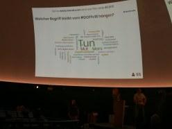 Was die Teilnehmer bewegte als Word Cloud beim DGFP Congress