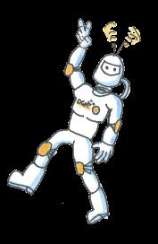 Illustration eines Raumfahrers bzw. Astronauten im All
